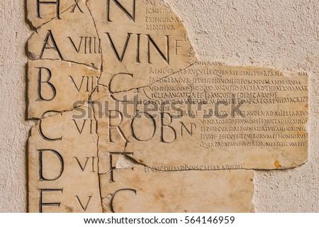 ancient rome alphabeta