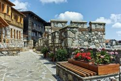 Ancient ruins in Old town of Sozopol, Burgas Region, Bulgaria