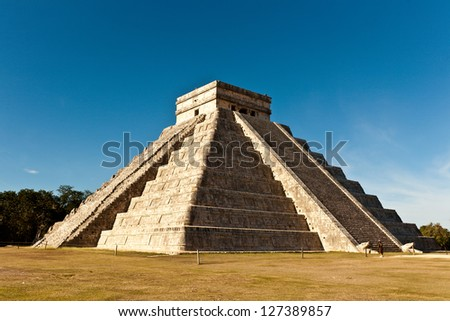Ancient ruins of Maya, Mexico, Chichen Itza