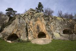 Ancient ruins of Phrygia, Afyon Turkey