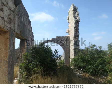 ancient ruins of silifke cilicia