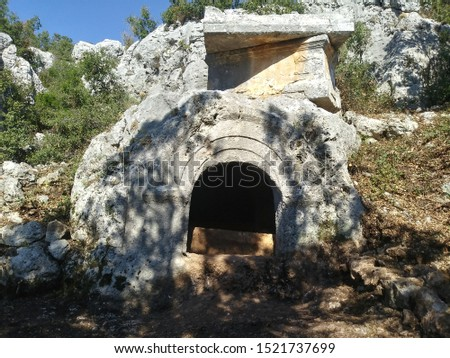 ancient ruins of silifke cilicia