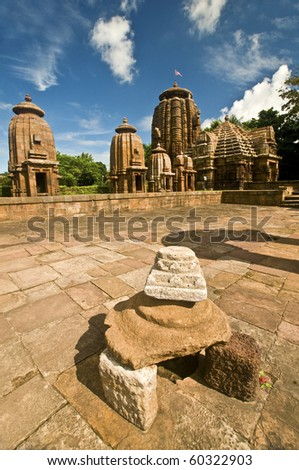 Ancient stone shrine and temples of Indian historic civilization