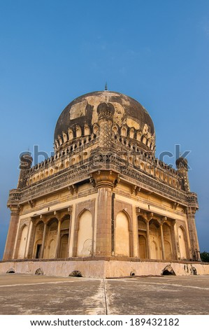 ancient structures built by the muslim kings of hyderabad