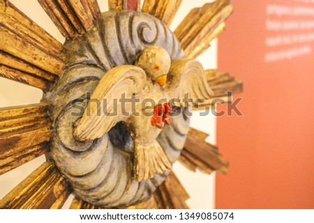 Ancient symbol of the Holy Spirit