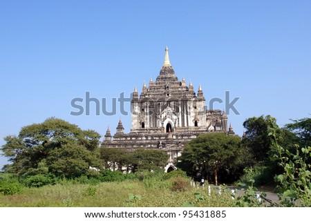 ancient temple in Bagan , Myanmar