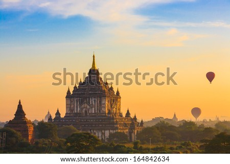 Ancient Temples in Bagan Myanmar
