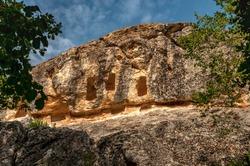 Ancient Thracian rock sanctuary