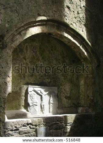 ancient tomb - stock photo