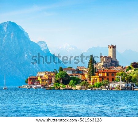 ancient tower and fortress in...