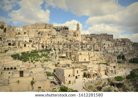 Ancient Town of Materna in Italy