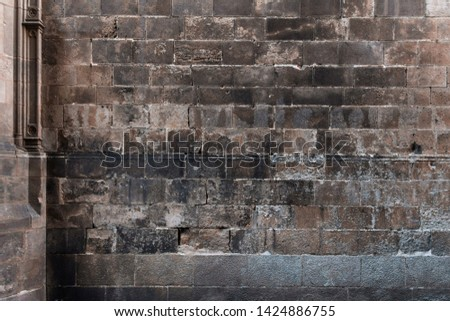 Ancient wall texture. Old background