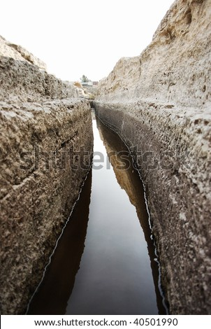 ancient water canal