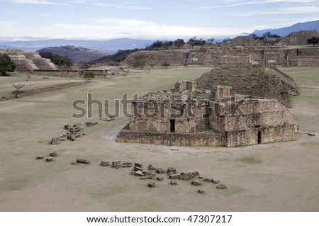 Ancient Zapotec capital of Monte Alban, Mexico