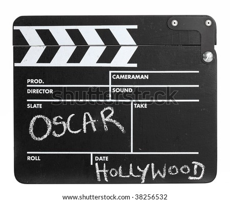 and the winner is...a isolated film slate