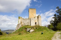 Andrade Castle, is an old medieval castle, located in the municipality of Pontedeume Spain.