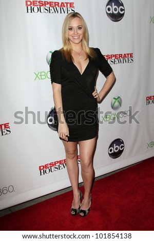 "Andrea Bowen at the ""Desperate Housewives"" Finale Party, W Hotel, Hollywood, CA 04-29-12"