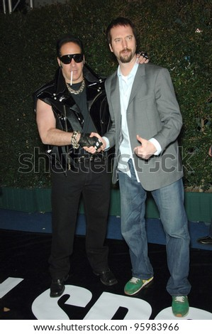 ANDREW DICE CLAY (left) & TOM GREEN at the Inaugural Arby's Action Sports Awards in Burbank, CA. November 30, 2006 Burbank, CA Picture: Paul Smith / Featureflash
