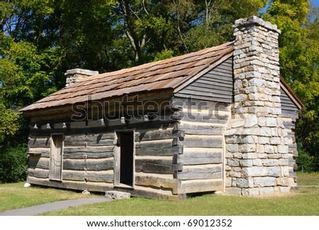 Andrew Jackson cabin