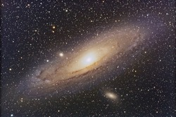 Andromeda Galaxy in  the constellation Pegasus.
