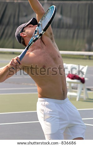 andy roddick shirtless. stock photo : Andy Roddick