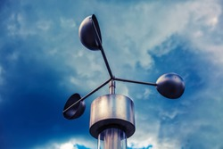 Anemometer, meteorological weather-station (measurement equipment)