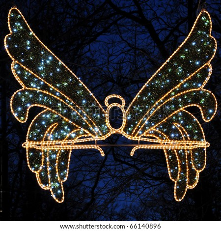Angel as a christmas decoration