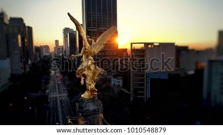 Angel de la Independencia Foto stock ©