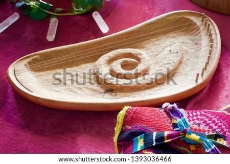 Angel Harp Healing Circle Instrument #1393036466