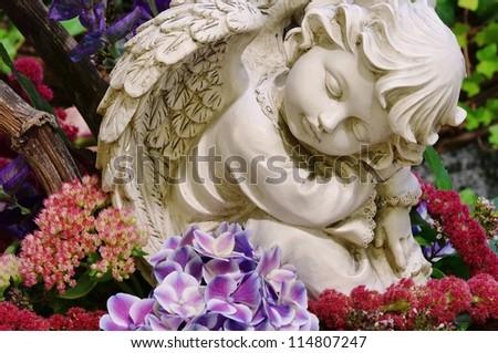 angel on cemetery