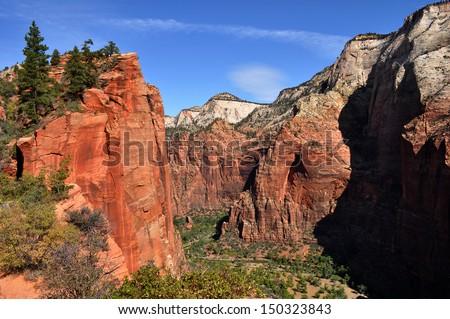 angel s landing zion national park ez canvas