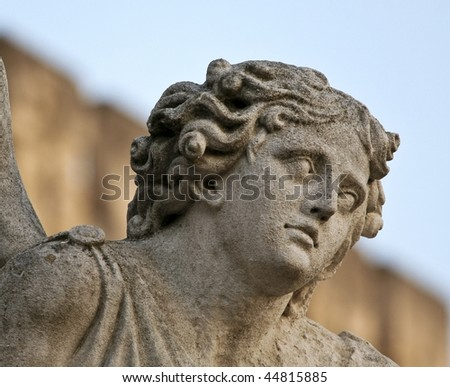 Angel - statue of an Angel in Avignon, France