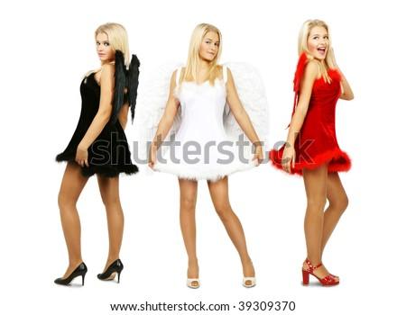 Angel trio