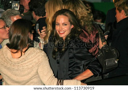 "Angelina Jolie at the Los Angeles Premiere of ""God Grew Tired of Us"". The Pacific Design Center, West Hollywood, CA. 01-08-07"