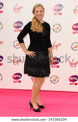 Angelique Kerber arriving for the WTA Pre-Wimbledon Party 2013 at the Kensington Roof Gardens, London. 20/06/2013