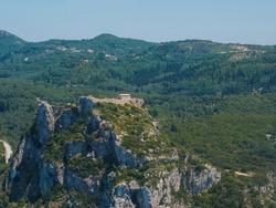 Angelo castro in Paleokastritsa COrfu Greece