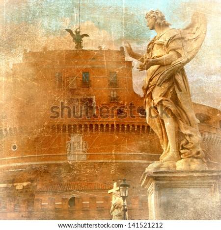 angels of Roma- artistic picture