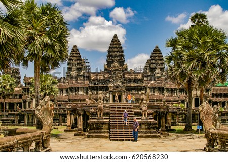 angkor wat in cambodia is the...