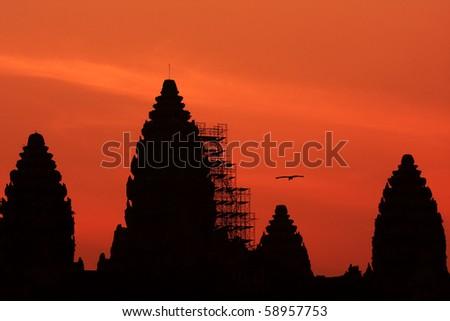 Angkor Wat In Sunrise