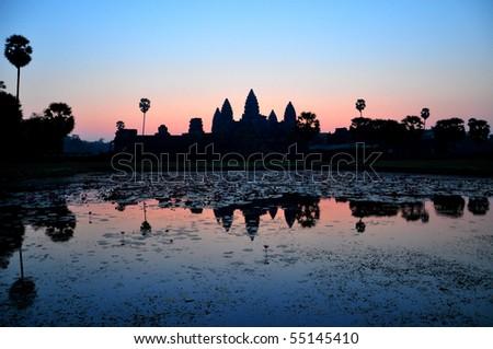 Angkor Wat Sunrise at Cambodia