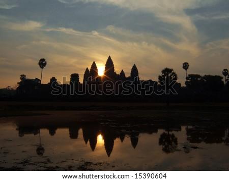 Angkor Wat Sunrise at Siem Reap