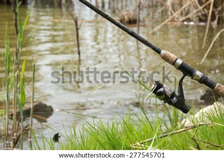 Angling stick #277545701