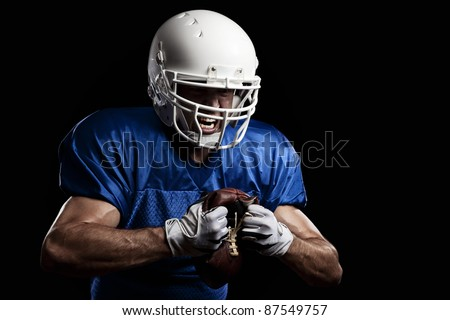 Angry Football Player