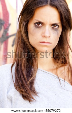 http://image.shutterstock.com/display_pic_with_logo/126010/126010,1276425769,1/stock-photo-angry-woman-portrait-after-crying-55079272.jpg