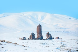 Ani Ruins - Ani ancient city is a ruined and uninhabited medieval Armenian city-site situated in the Turkish province of Kars