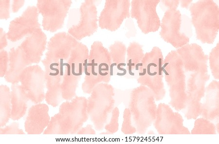 Animal Abstract Print. Pink Leopard Jungle Tropical Pattern. Fashion Textile Print. Wild Exotic Background. Wild Exotic Wild Pale Animal Skin. Modern Animal Illustration For Fabric Design.