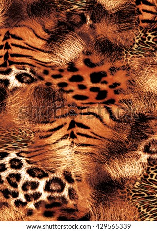 animal print mix. sublimation print design, Design For textile printing, animal print, leopard skin, animal print mix.