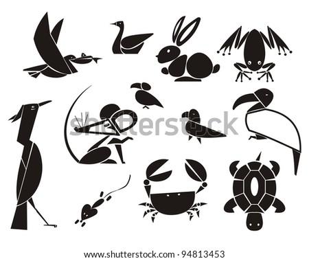 Animals and Birds - stock photo