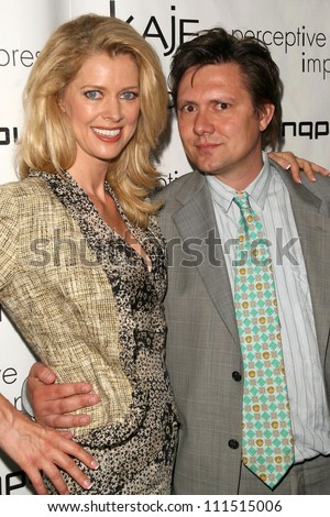 Anita Seelig and Karl Seelig at the press conference for Ring Plus. Beverly Wilshire Hotel, Beverly Hills, CA. 06-04-07
