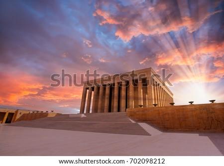 Shutterstock Anitkabir - Mausoleum of Ataturk, Ankara Turkey